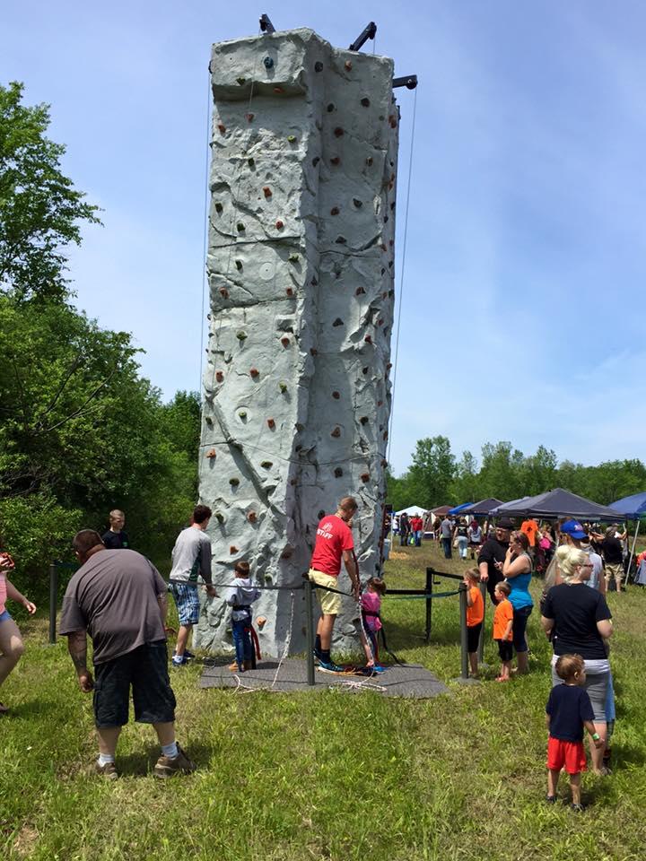 Barnyard Boggers Rock Climbing Wall