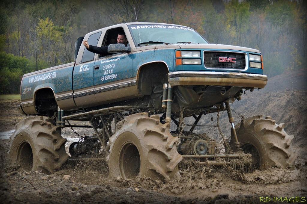 scots in mud
